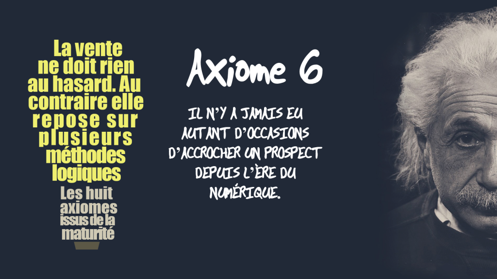 Axiome 6 prospection commerciale