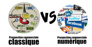 Prospection commerciale classique vs numérique