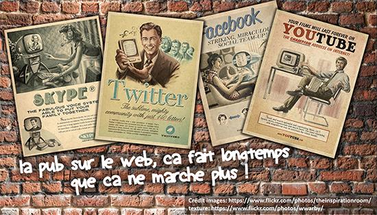 Arrêtez la pub sur le web et les réseaux sociaux, tout le monde s'en fout !