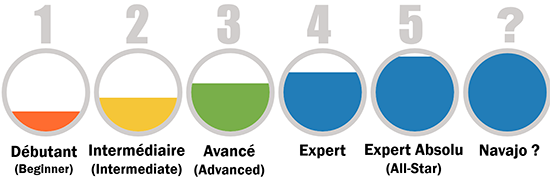 5 niveaux profil Linkedin
