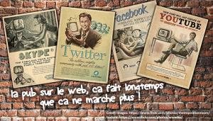 Réseaux sociaux - La pub sur le web, ca fait longtemps que ca ne marche pas