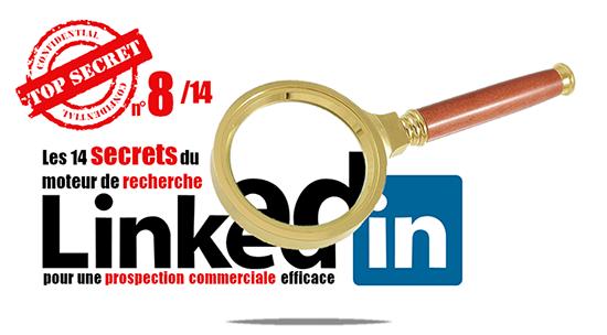 Secret 8 de la recherche Linkedin: les avantages des versions Premium