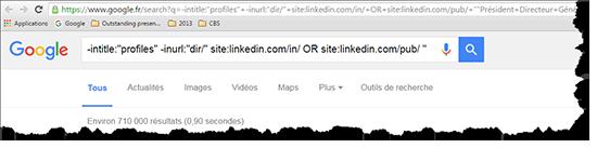 Recherche LinkedIn Profilr 02