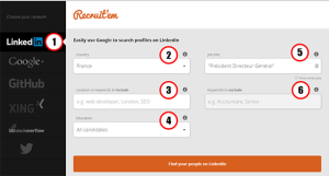 La version gratuite de Linkedin comporte une limite commerciale de recherches sur un seul mois. Qu'est-ce que cette limite commerciale ? Linkedin détermine un seuil au-delà duquel il est considéré que votre activité sur LinkedIn a probablement un but commercial, comme de la prospection. Votre capacité de recherche sera limitée jusqu'à sa réinitialisation le mois prochain. La limite n'affecte pas votre capacité à rechercher des relations de 1er niveau. Même si vous atteignez la limite, vous pourrez toujours rechercher des relations de 1er niveau sur votre page de relations. De combien est la limite commerciale ? En fait Linkedin ne la communique pas. Certains ont expérimenté une limite à 60 recherches par mois ? D'autres disent parvenir à 300 ? Alors j'ai essayé à partir de différents comptes comme celui de mon épouse (merci Pascale), et j'ai réussi à en faire jusqu'à 800. Ma conclusion est que la limite commerciale semble varier en fonction des pratiques, d'un cumul mensuel et d'un seuil journalier aussi. J'en viens parfois à me dire qu'elle varie en fonction du profil d'utilisateur spécifique : par exemple je souspçonne que les utilisateurs du secteur Recrutement pourraient avoir moins de recherches disponibles que d'autres. - Une alerte informe que 30% des recherches sont encore disponible. - J'ai réussi à atteindre 800 recherches uniques sans déclencher l'alerte - Mais j'ai aussi expérimenté une limitation de 24h alors que je n'étais qu'à 600, sans doute parce que ce jour là le nombre de recherche avait excédé une limite Linkedin. - En cliquant sur les profils à partir de l'écran de résultats, je suis parvenu à 80 avant de déclencher le blocage journalier, mais sans avoir déclenché l'alerte des 30%. Si vous êtes un utilisateur intensif des recherches, le moyen le plus simple de contourner cette limitation serait de passer à un compte Premium. Il existe toutefois plusieurs solutions gratuites. Ce secret #12 est similaire à l'Secret #11, et constitue comme elle une