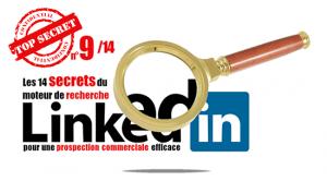 Les 14 secrets du moteur de recherche Linkedin pour une prospection efficace