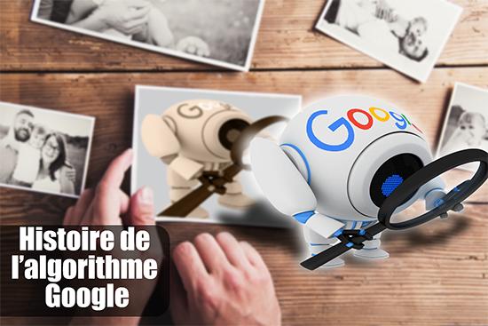 Histoire de l'algorithme Google