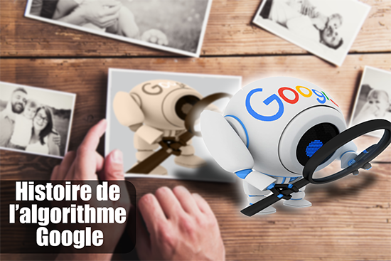 Histoire Algorithme Google