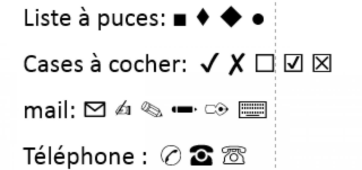 utiliser des symboles pour rendre votre profil linkedin